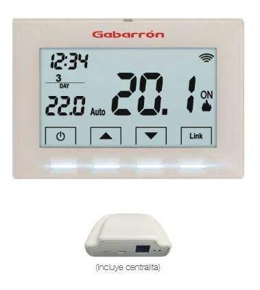 Gabarrón ctm20 WiFi, termostato WiFi, Control de calefacción ...