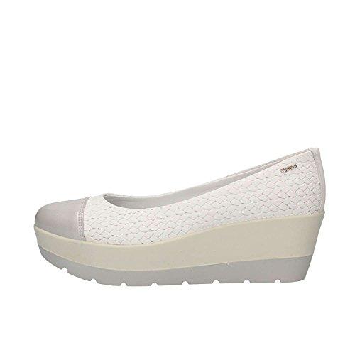 Zapatos 1144811 amp;Co EN Ballet Piel de Mujer IGI Blanca de EA5qwqHR