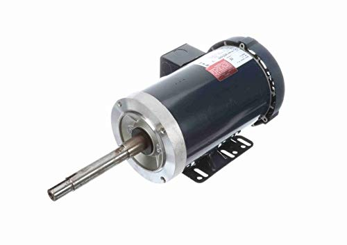 1 1//2 hp 1800 RPM 145JP Frame 200V TEFC Marathon Close Coupled Pump Motor # GT3304