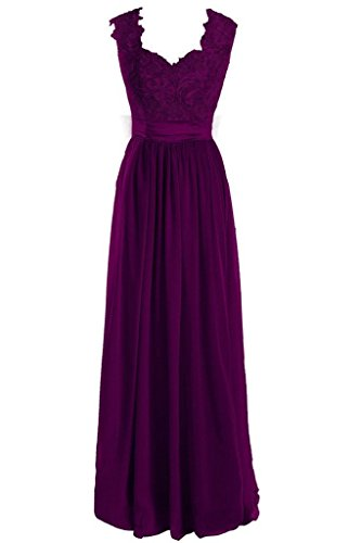 Mint Bridesmaid Women s Party Grape Lace Long Fanciest Gowns Wedding Dresses awSZn