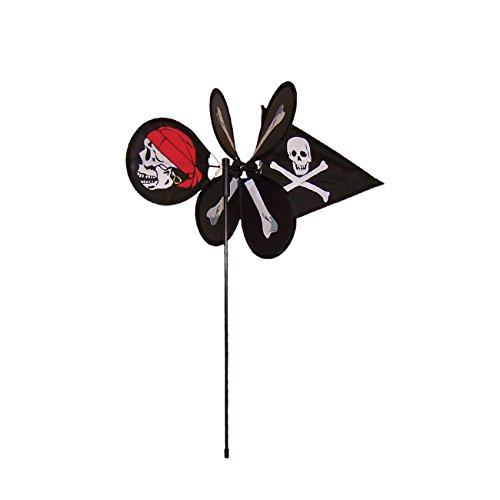(In the Breeze Lil' Skull 'n Bones Garden Spinner)
