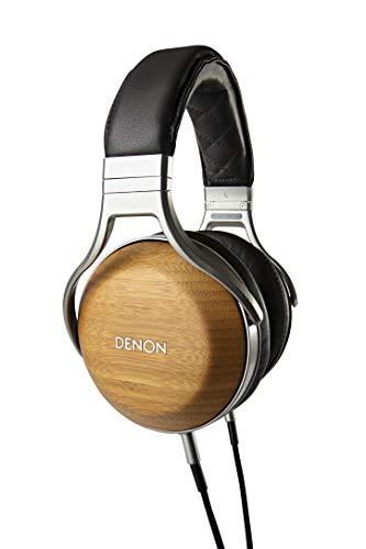 Denon AH-D9200 Over-Ear Premium Headphones (Bamboo)