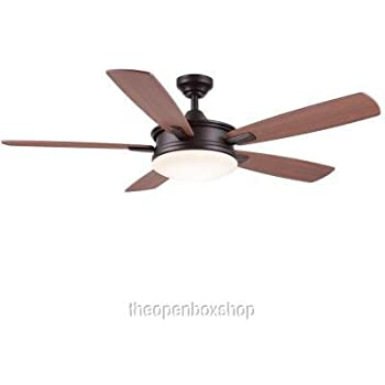 this item home decorators collection daylesford 52 in oiled rubbed bronze led ceiling fan - Home Decorators Collection Ceiling Fan