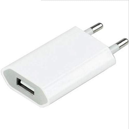 USBadapter voor Oneplus 7 Plus stekker 1 poort AC oplader wit 5 V1 A universeel wit