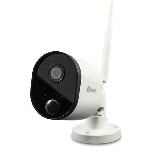 Swann Outdoor Wi-Fi Security Camera | Wireless 1080p Camera | Compatible With Alexa and Google Assistant (SWWHD-OUTCAM)