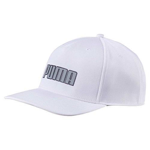 Puma Golf 2018 Men's Go Time Flex Snapback Hat (Bright White, One Size) ()
