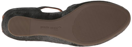 Gentle Anime Womens Lily Moon Wedge Pump Graphite