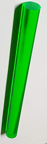Green Acrylic Rods - 1