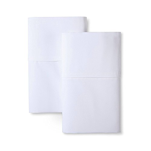 Hotel Sheets Direct Luxury 100% Bamboo King Pillowcase Set - Eco-Friendly, Hypoallergenic, Wrinkle Resistant. Bamboo 2-Piece King Pillowcase Set (2 King Pillowcases, White)