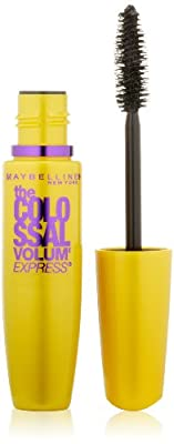 Maybelline New York The Colossal Volum' Express Washable Mascara, 0.31 Fluid Ounce