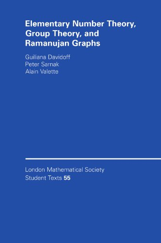 Elementary Number Theory, Group Theory and Ramanujan Graphs (London Mathematical Society Student Texts)