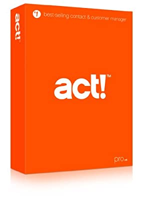 ACT! Pro v16 Software by Swiftpage - 1 License - (2014 - NEWEST VERSION)