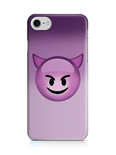 COVER Emoji Smiley Teufel lila Handy Hülle Case 3D-Druck Top-Qualität kratzfest Apple iPhone 7