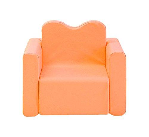 Iizz POPO Kids Smart Desk Sofa One Set Separable Baby Chair Table Combine Block (Orange) by iizz