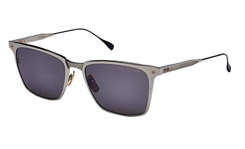 Dita DRX-2084-B-PLD-NVY-55-Z - VOYAGER Sunglasses Black Palladium - Matte Navy Frame w/Dark Grey - Black Flash - AR Lens 55mm ()