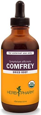 Herb Pharm Certified Organic Comfrey Liquid Extract – 4 Ounce