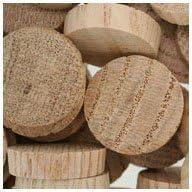 "WidgetCo 1"" Oak Wood Plugs, End Grain"