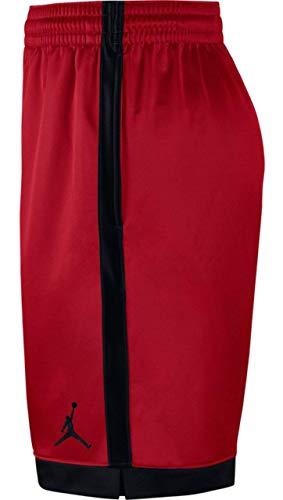 Pantaloncini Shimmer nero palestra nero rosso Jordan Nike da Uomo FxBZFr4w