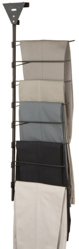Rubbermaid MN526 Over-the-Door/Closet-Bar 8-Pair Trouser Rack