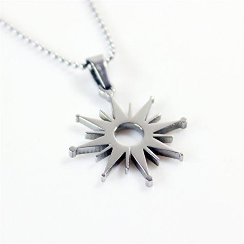 Fanstown EXO kpop 12 members symbol badge necklace+EXO gift Luhan Kris Chanyeol Baekhyun (Baekhyun Necklace)