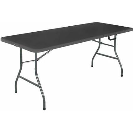 Amazon.com: 6 foot Marco de acero Fold en la mitad – Mesa ...