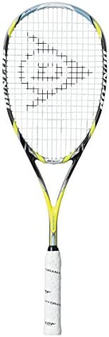 Dunlop Sports Aerogel 4D Ultimate Squash Racket, Yellow/Black, One Size