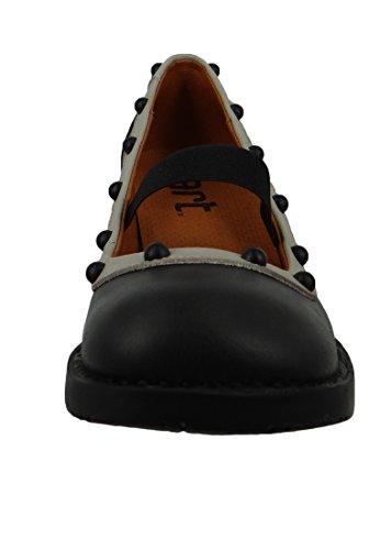 Bristol 1202A ART Memphis Zapato Black Negro Negro wSaqIa