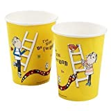 New Design Charlie & Lola Birthday Party Cups, Pack of 8, Paper