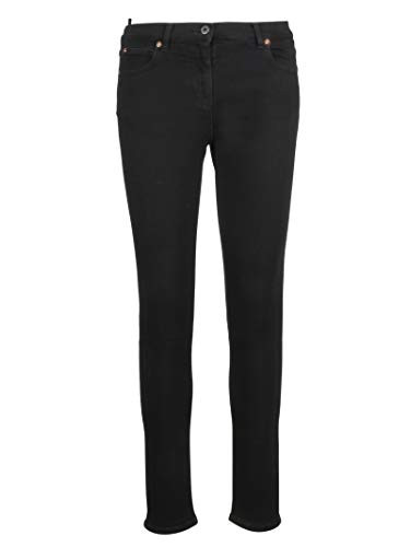 Valentino Rb0dd08i4n0926 Negro Mujer Jeans Algodon 0Fq0AwCf