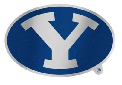 WinCraft NCAA BYU Brigham Young Cougars 4.85