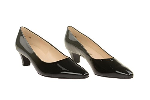 vestir Peter Kaiser charol gris Zapatos 47601 de mujer de para 138 SFSTXq