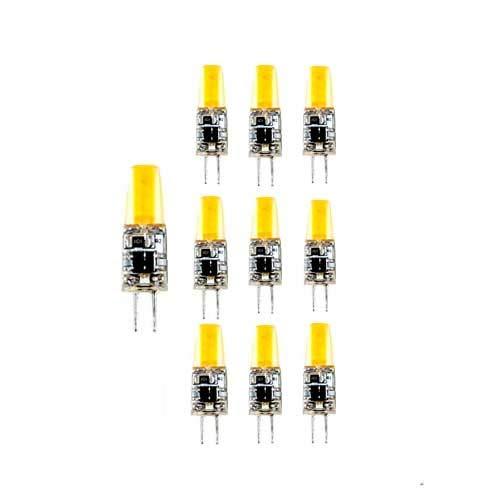 Lámpara Bombilla LED G4 LED COB 12V CD 4000 K luz día 3 W, (