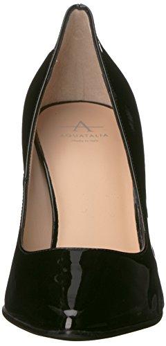 Aquatalia Harlee Patent Women's Black Pump dress rr4B0qw