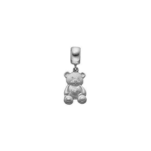 Greek Sororities SS KAPPA DELTA TEDDY BEAR CHARM ON PLAIN BEAD Size One Size