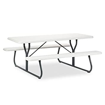 ICE65923   IndestrucTables Too 1200 Series Resin Picnic Table