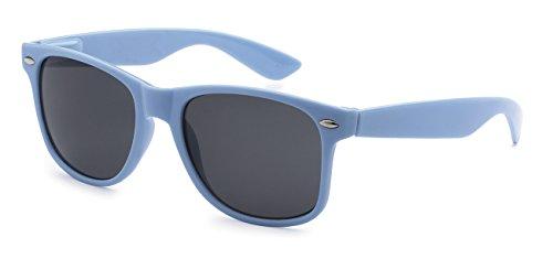 5Zero1 80's Women Men Wayfarer Classic Fashion Party Wedding Sunglasses (Light Blue Wayfarer, - Cute Sunglasses Girl