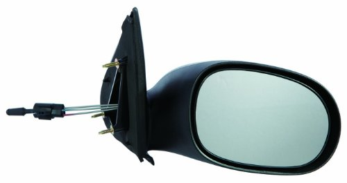 (Gold Shrine for 2000 2001 2002 2003 2004 2005 Dodge Neon Manual Side Mirror Passenger Right Side Replacement CH1321158)