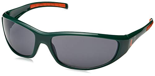 Siskiyou NCAA Miami Hurricanes Wrap Sunglasses