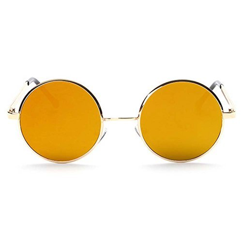 Smiley Face Killer Costume (A-Royal 2016 New Fashion Metal Frame Colorful Plane Sunglasses(C4))