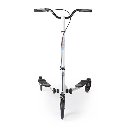 AODI Wheels Scooter Push Swing Slider Wiggle Trike for Over 9 Year Older -
