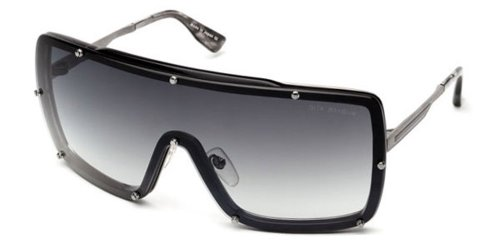 Dita Raygun Sunglasses Antique Silver-Light Grey 23003A (Dita Sunglasses)