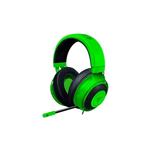 chollos oferta descuentos barato Razer Kraken Auriculares Gaming con cable para juegos multiplataforma para PC PS4 Xbox One Switch Diafragma 50 mm Cable de 3 5mm con controles de línea Verde