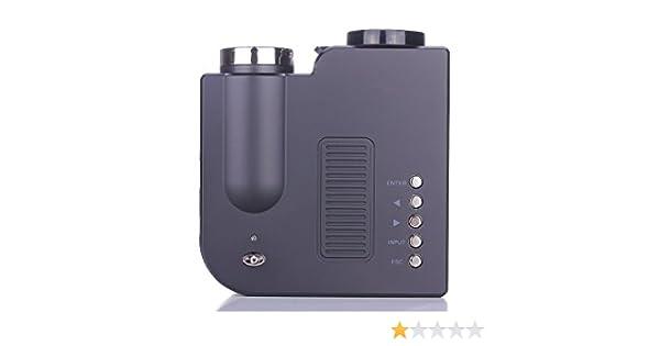 Gearmax® HDMI mini proyector portable LED Cine en casa Teatro AV ...