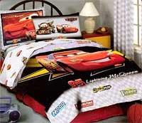 Disney Pixar Cars FUll Sheet Set Lightning McQueen U0026 Mater Grey