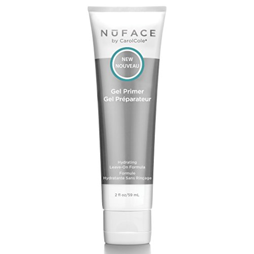 NuFACE Hydrating Leave-On Gel Primer | Use with NuFACE Device | Smooths Skin, Reduce Wrinkles | Lightweight Application | 2 Fl Oz