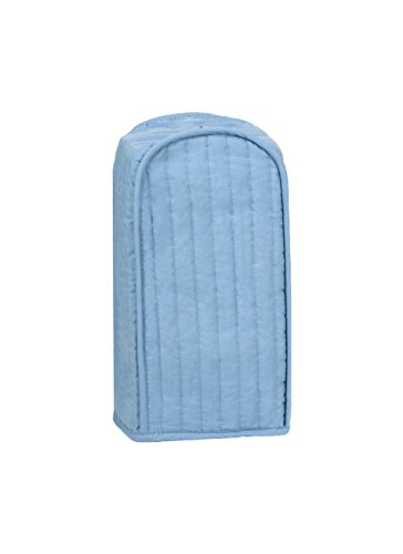 RITZ Polyester / Cotton Quilted Blender Appliance Cover, Dust and Fingerprint Protection, Machine Washable, Light Blue