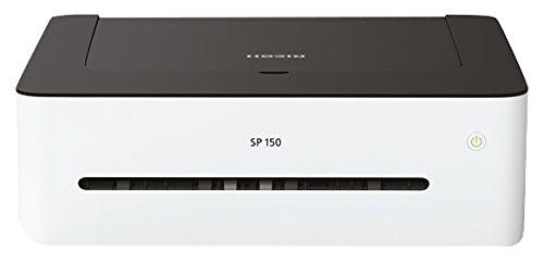 Ricoh SP 150 408002 Mono-Laserdrucker (A4, Schwarzweiß Drucker, USB, 1200 x 600 dpi) weiß/schwarz