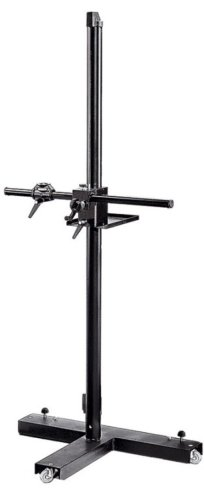 Manfrotto 806 Mini Salon 190 Camera Stand with Counter-Balanced Cross Arm (Black) by Manfrotto