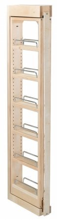 Rev-A-Shelf RS432.WF42.6C 6 in. W x 42 in. H Wall Filler Pull Out, Wood - Rev A-shelf Wood Pull