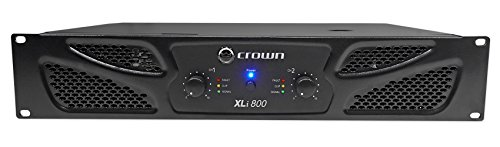 Crown XLi800 Two-channel, 300W at 4Ω Power Amplifier -